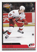 03-04 Pacific Complete Eric Staal /99 Rookie RED Parallel 2003