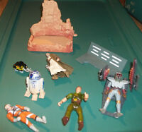 Lot of Star Wars Action Figures and Accessories