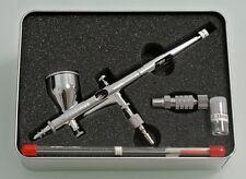 Royalmax 0.2mm Aerographe Pistolet à peinture Airbrush +Coupling+0.3mm Pointe Fr