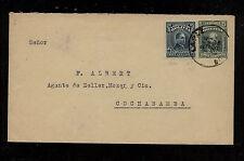 Bolivia   uprated postal envelope to Cochabamba 1928      AL0517