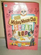 VINTAGE TOY- MICKEY MOUSE CLUB SCRAP BOOK- NEVER USED- L234