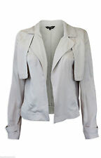 Viscose Cropped Coats & Jackets without Fastening for Women