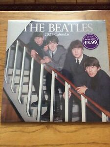 The Beatles calendar 2021 - New and sealed