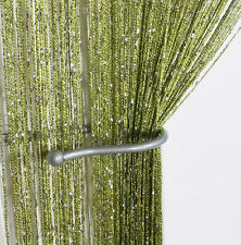 Glitter String Curtain Panels&Fly Screen & Room Divider&Voile Net Curtains