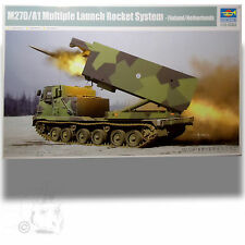 TRUMPETER 1/35 SOVIET 2K1A TEL WITH 9M8M MISSILE 'KRUG-A/ (SA-4 GANEF) KIT 09523