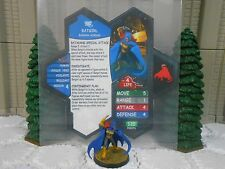 Heroscape Custom Batgirl Double Sided Card & Figure w/ Sleeve DC