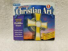 Cosmi Print Perfect Christian Art Cd ROM Computer Program