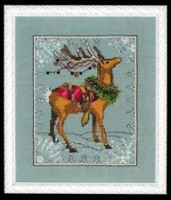 """DONNER"" XMas Eve Couriers by NORA CORBETT XSTITCH CHART W/ EMBELLISHMENT"