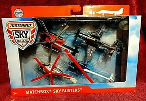 Matchbox Sky Busters 4 pack set B SEALED