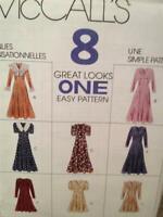 McCalls Sewing Pattern 7364 Ladies / Misses Dress Size 8-12 Uncut