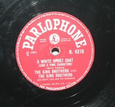 """The King Brothers – A White Sport Coat - 1957 Shellac 10"""" 78 - Parlophone"""