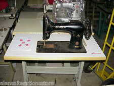 SINGER 132 SEWING MACHINE TABLE TOP PRECUT (MACHINE,MOTOR,STAND NOT SUPPLIED)