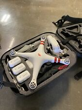 Dji Phantom 3 Standard Quadcopter Camera Drone w/ 4 batteries and backpack.