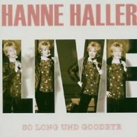"HANNE HALLER ""LIVE-SO LONG AND GOODBYE"" 2 CD NEUWARE"