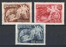 Hungary 1950. 1. May work day nice set Mnh (*) Michel: 1095-1097