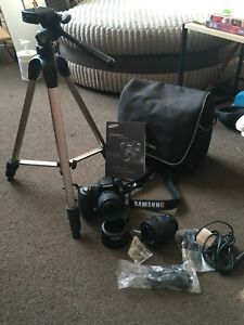 samsung gx10 dslr with lots of extras