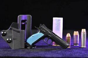 1:3 CZ 75 Shadow 2 Mini Scale Action Model Toy Gun Handgun Pistol Keychain Gift