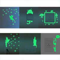 Home Switch Cover Wall Light Socket Glow in the Dark Stickers Room Decors PICK