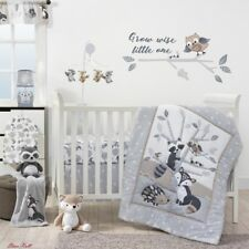 Crib Bedding Set Home Baby Bedroom Little Rascals Forest Animals Accessories New