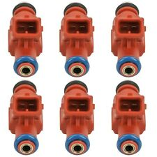 Set 6 Bosch Fuel Injectors for Ford Explorer Sport Trac Mercury Mountaineer V6
