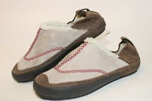 Patagonia Womens Size 8.5 39.5 Leather Slip On Moccasin Clog Flat Shoes T10322
