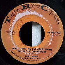 Louis Jordan / Rare R&B Soul 45 / Point of No return / Flowers in the Graveyard