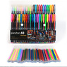 48x Color Gel Pen Glitter Scrapbooking Ink Pens Adult Drawing Painting Craft Art
