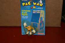 1980 Pac-Man PVC Figure Midway Coleco Collectible Arcade Toy MOC MIP RARE