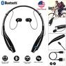 Wireless Bluetooth Headphones Headset Stereo Earphone Neckband Earbuds W/ Mic US