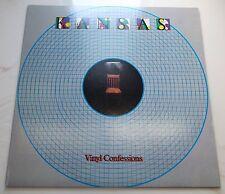 "VINTAGE KANSAS VINYL CONFESSIONS VINYL 12""LP RECORD-ALBUM-VTG-OLD-CLASSIC-MUSIC"