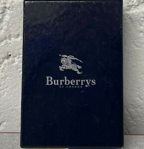 (BOT) Burberry Leather Keychain Purse