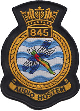 845 NAS Naval Air Squadron Royal Navy FAA Crest MOD Embroidered Patch