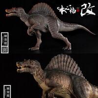 Nanmu 1/35 Spinosaurus Figure Spino Supplanter Dinosaur Model Collector Toy Gift
