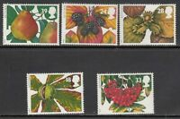 Grande Bretagne - Courrier 1993 Yvert 1692/6 MNH Fruits
