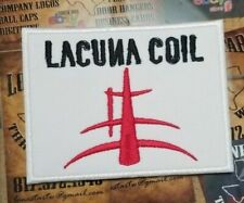 EMBROIDERED LACUNA COIL GOTH METAL BAND PATCH