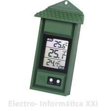 Thermometer Maximum and minimum with memory for Interior External -20° to 50º