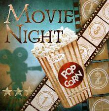 Conrad Knutsen: Movie Night COMPLETO - 30x30 Immagine Muro Immagine Cinema Film