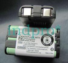 1PC for Panasonic P104 HHR-P104 cordless phone battery