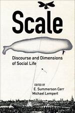 SCALE - CARR, E. SUMMERSON (EDT)/ LEMPERT, MICHAEL (EDT) - NEW PAPERBACK BOOK