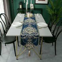 Table Runner European Jacquard Decoration Dining Table Cloth Household Textiles