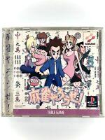 *FREE SHIPPING* MAHJONG YAROUZE PS1 Sony Playstation 1 Japan Game Konami