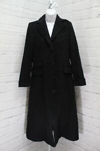 Lauren Ralph Lauren Maxi Reefer Coat, Women's Size 2, Black NEW
