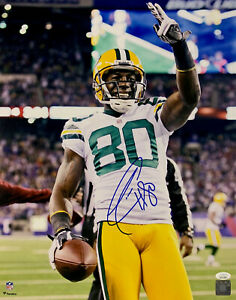 Packers DONALD DRIVER Signed 16x20 Photo #1 AUTO - SB XLV Champ - Career Leader