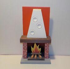 ++ FRADE  Offener Kamin / Kamin  - Ofen für die Puppenstube ++Mbr