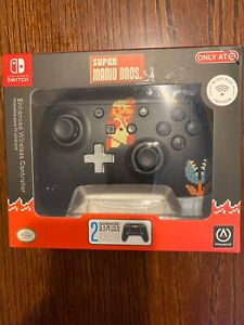 PowerA Retro 8-Bit Super Mario Wireless Controller for Nintendo Switch New