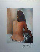 Salvador Dalì - litografia cm 50 x 65 numerata e firmata a lapis