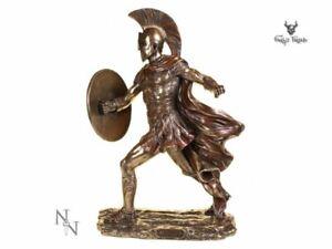 Achilles Greek Warrior Statue Vintage Ornament Figurine Ancient Sculpture Decor