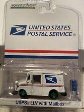 Greenlight GREEN MACHINE United States Postal Service USPS LLV Truck w/ Mailbox