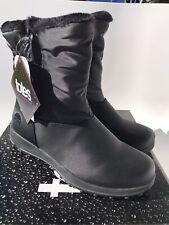 Totes Rikki Women's Black Snow Boots (Size 8)