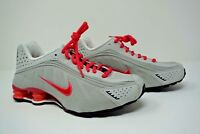 Youth / Womens Nike Shox R4 Sneakers New Gray / Pink 312828-002 6.5Y/7.5W